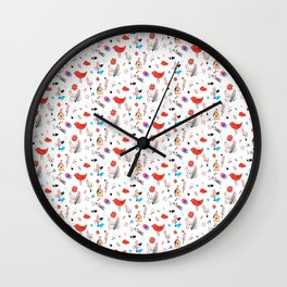 Birdies Wall Clock