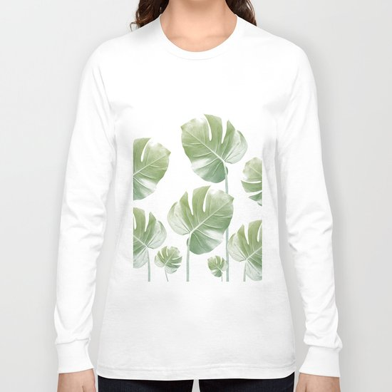 Monstera Rising Long Sleeve T-shirt