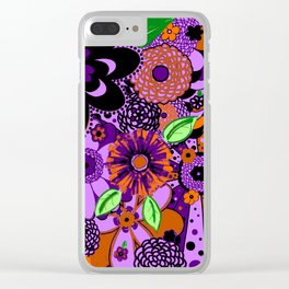 Flowers To Go Clear iPhone Case