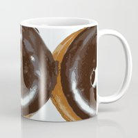 donut Mugs featuring Donut by Kelly Sweet
