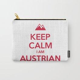 KEEP CALM I AM AUSTRIAN Carry-All Pouch