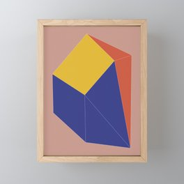Minimal Geometry No. 12 Framed Mini Art Print