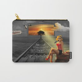 Longing for holidays and sun Carry-All Pouch