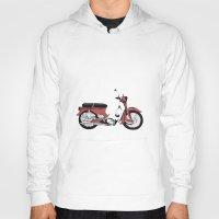 motorbike Hoodies featuring Motorbike by Ryan Ly