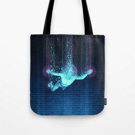 Virtual Reality Diver Tote Bag