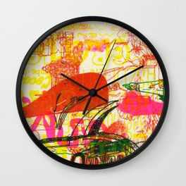 É Hard Wall Clock