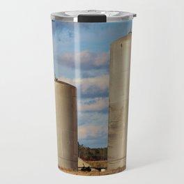 Tall And Short Silos  Travel Mug