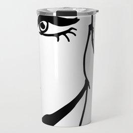 Eye Liner Girl - Tori Travel Mug