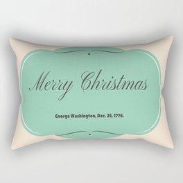 Not a Hessian Was Stirring Rectangular Pillow
