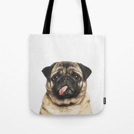 Cheeky Pug Tote Bag