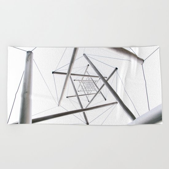 Infinite Geometry Beach Towel