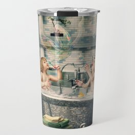 """H. Ch. Andersen tale motive  """"The Ugly Duckling"""" Travel Mug"""