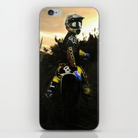 moto iPhone & iPod Skins featuring Moto Sunset by Konrad Hempel Photography
