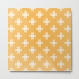 Simple tribal pattern Metal Print