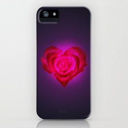 Heart of flower iPhone Case