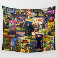 aurora Wall Tapestries featuring Aurora by Mouah