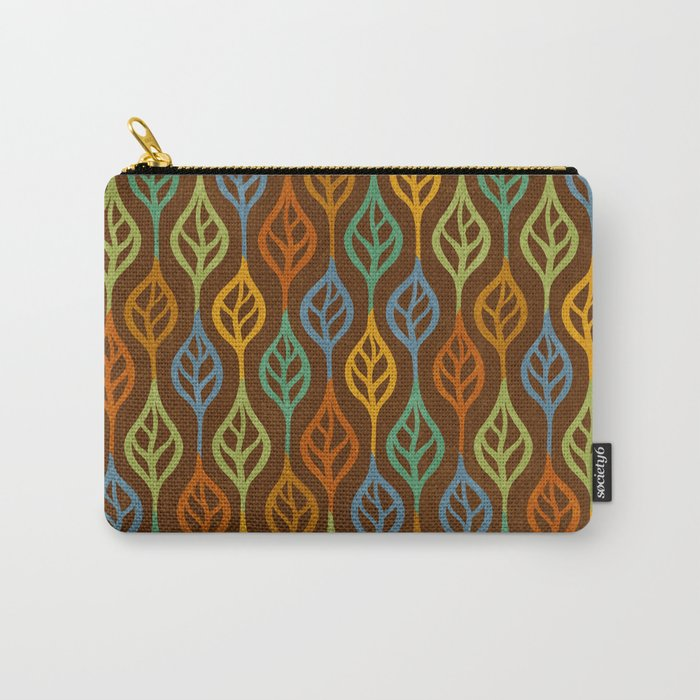 Autumn leaves pattern I Carry-All Pouch