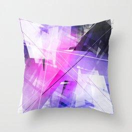 Replica - Geometric Abstract Art Throw Pillow
