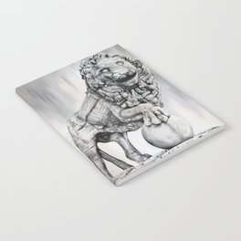 Medici Lion Painting Notebook