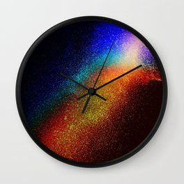 WATER - NOT real Glitter Wall Clock