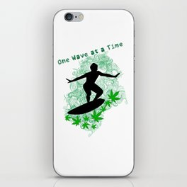 One Wave at a Time iPhone Skin