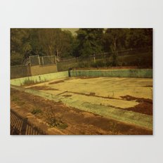 Abandoned Pool Canvas Print