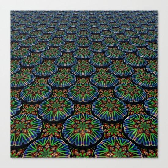 Kaleidoscope Pattern Canvas Print
