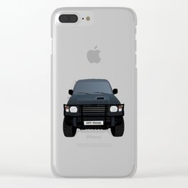 Off - Road Truck Clear iPhone Case