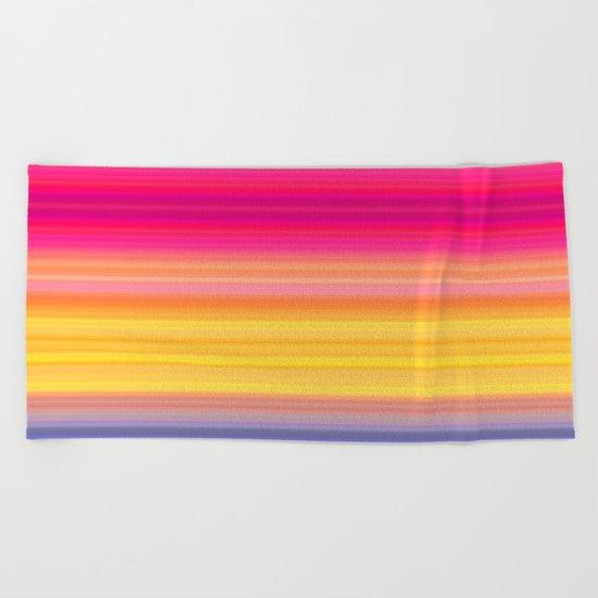 Society Sunset Beach Towel