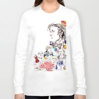willy wonka Long Sleeve T-shirts featuring Willy Wonka & The Chocolate Factory by Arielle Trenk