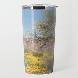 Joshua Tree Wildflowers Travel Mug