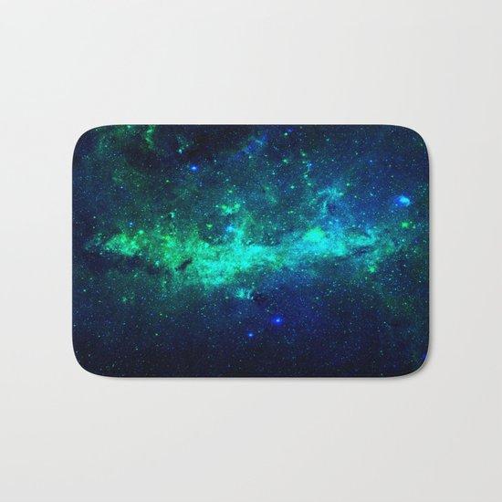 Bright Nebula Bath Mat