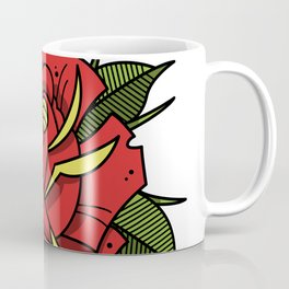 Tattoo Rose Coffee Mug