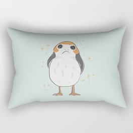 Space Porg Rectangular Pillow