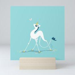 Snek Unicorn III Mini Art Print