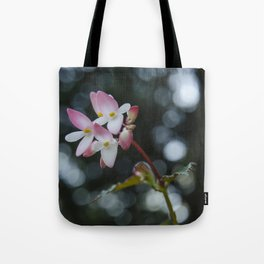 The Curious Pink Tote Bag