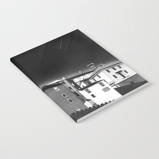 Castles at Night (B&W) Notebook