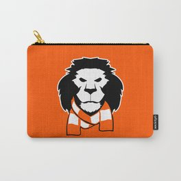Lion logo - orange background Carry-All Pouch