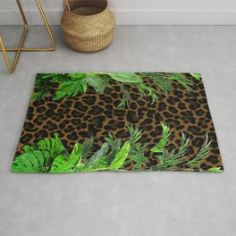 Jungle Leopard Rug