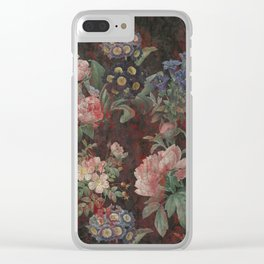 Old Fancy Clear iPhone Case