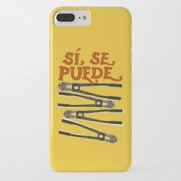 Sí se puede iPhone Case