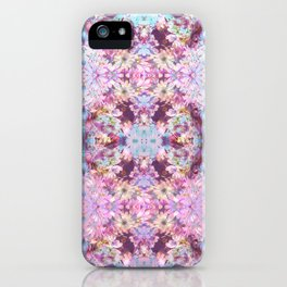Purple Flowers iPhone Case