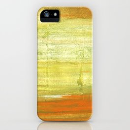 Vegas gold abstract watercolor iPhone Case