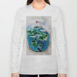 Window seat Long Sleeve T-shirt