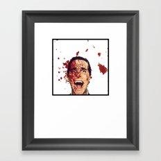 8-Bitman Framed Art Print