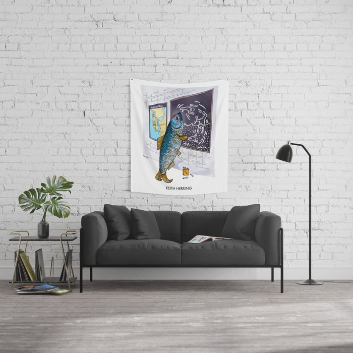 Keith Herring Wall Tapestry