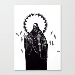 The Tarot of Death Canvas Print