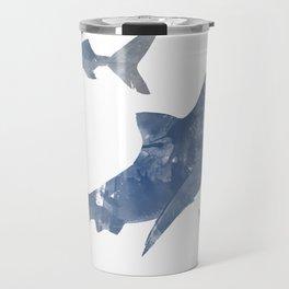 The World is Full of Sharks Travel Mug