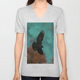 Soaring Crow Unisex V-Neck