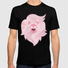 Lion - Steven Universe Mens Fitted Tee Black LARGE